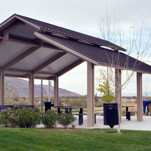 Gazebos, Shelters & Shade Systems